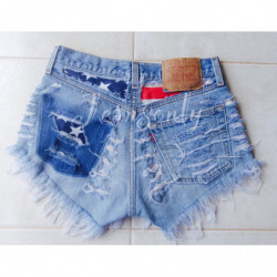 American flag shorts...