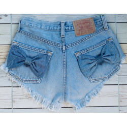 Bow shorts High waisted...