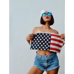 American Flag high waisted...