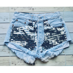 Levi High waisted shorts...