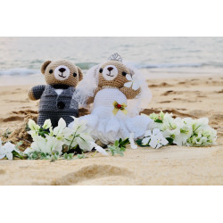 love wedding TEDDY BEAR...