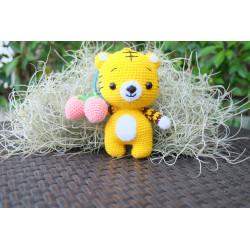 tiger handmade crochet
