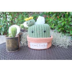 handmade crochet cactus...