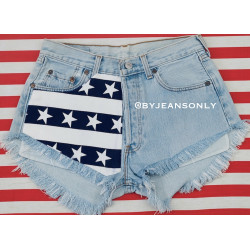Stars and Stripes levis 501